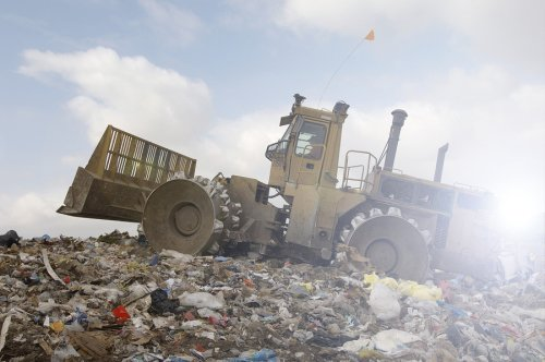 landfill - waste